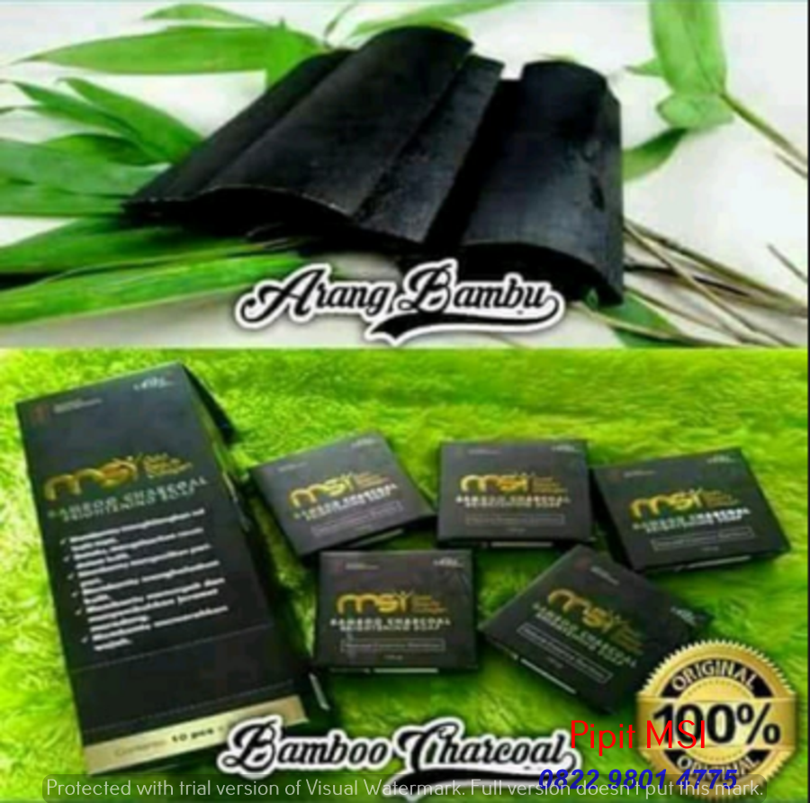 Distributor Resmi Sabun Arang Bamboo di  Kajen, Pekalongan Hubungi 082298014775