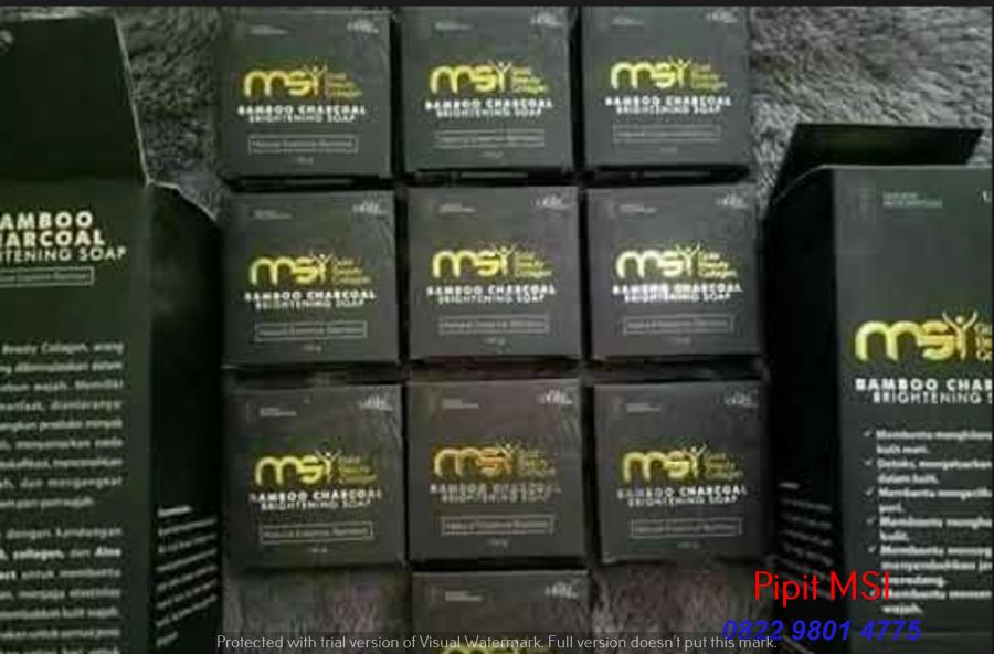 Distributor Resmi Sabun Arang Bamboo di  Sumber  Cirebon Hubungi 082298014775